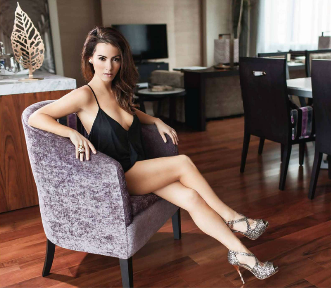 Claudia Lizaldi Revista OPEN Agosto 2013 | Revistas Open Free Download