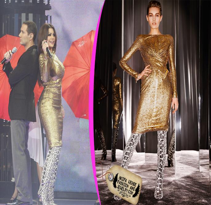 Haifa Wehbe: new pictures Haifa on Celebrity Duets ديو ...