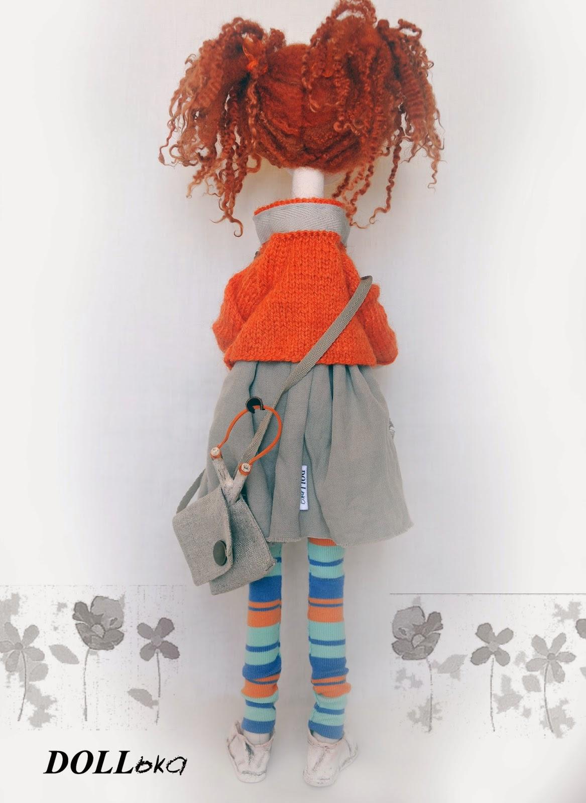 кукла хендмейд