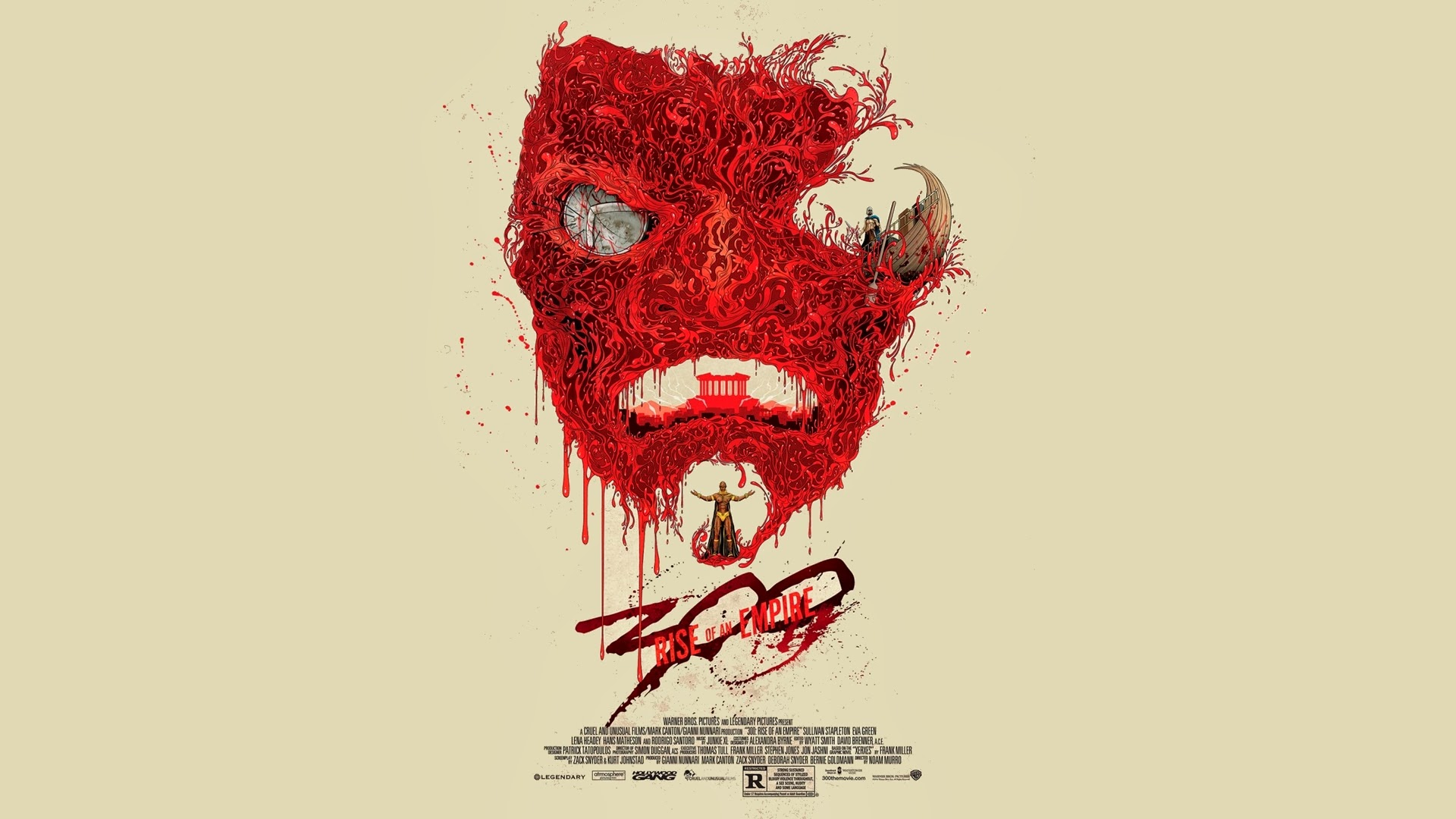 300 Rise of an Empire Poster 9u