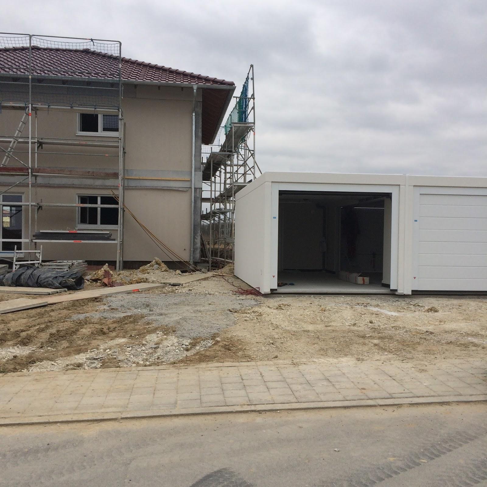 Estrich In Keller Und Garage Fix Fertig Haus: Dietrich´s Baublog: Die Garage Kommt