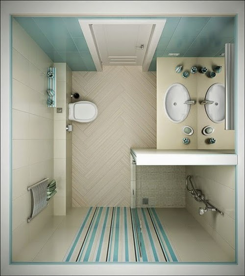 Jacuzzi Baño Pequeno:Small Bathroom Design Ideas