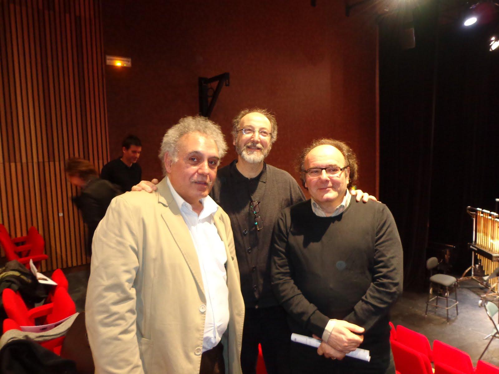 junto a Arthur Thomassin y José Manuel López López