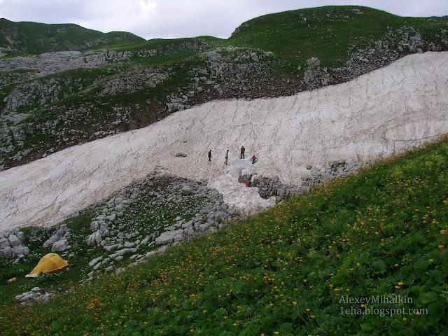 Снежник пещера Куйбышевская