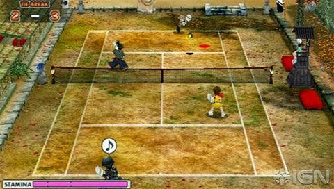 Игра Теннис Для Psp