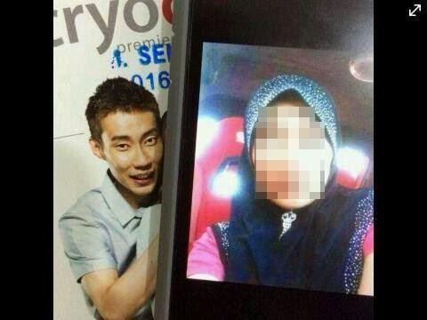 2 Gambar Kembar Seiras Dato Lee Chong Wei Yang Sebijik Macam Beliau