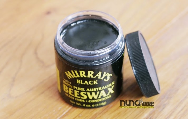 MURRAY'S Black Beeswax - Hitam 100% Murni Lebah Australia lilin Murray