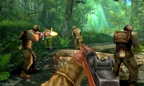 Brothers In Arms 2 Mobile Game, First Person Shooter Mobile Games