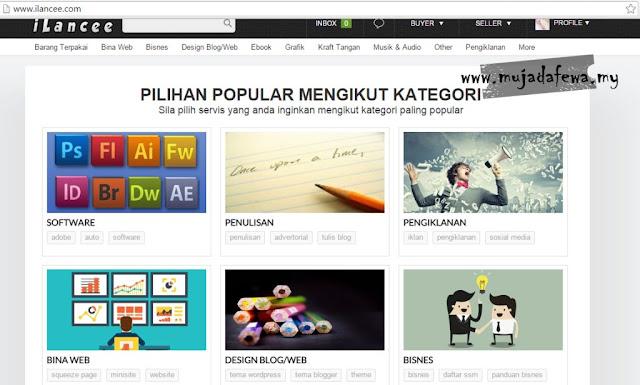 iLancee.Com, Pusat Jual Beli Servis Malaysia, lubuk duit untuk blogger, web jana pendapatan blogger, blogger buat duit