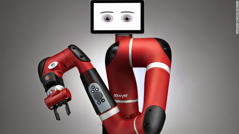 One Arm Might Be Better Than Two for Rethink Robotics