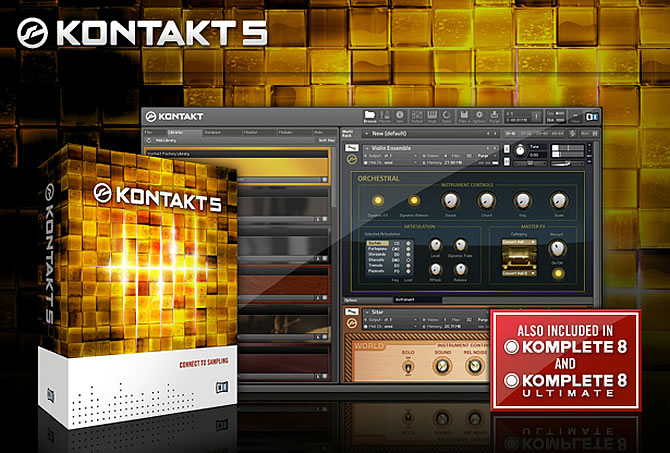 Native Instruments Kontakt 5 v5.1.0 UNLOCKED -R2R [1 links]