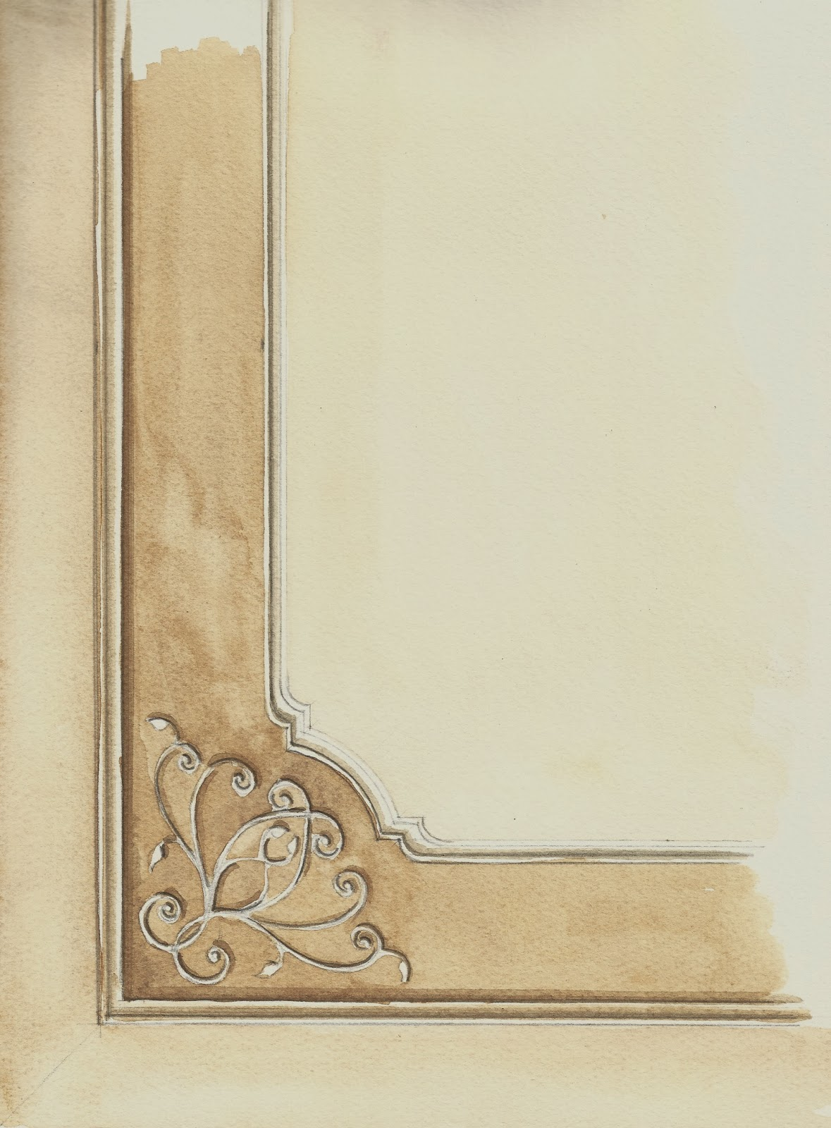 Arternativa decori soffitto con angolari cornice e rosone - Decorazioni per soffitti ...