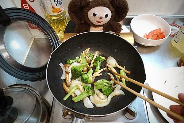 トビウオ唐揚げトマトあんかけの作り方(3)