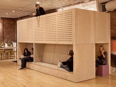 Escritórios - espaços de descanso