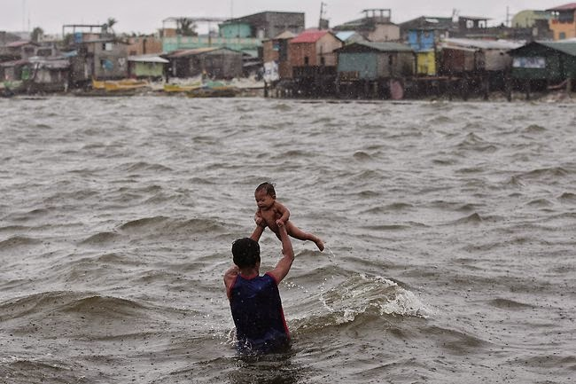 Over 200,000 Were Displaced By The Philippines Storm