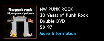 NW Punk Rock DVD