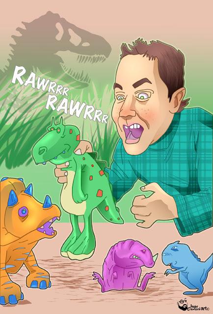 Jurassic World dinosaur illustration