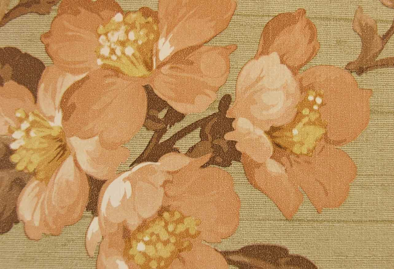 Old Vintage Floral Wallpaper wallpaper background (1283 x 877 )