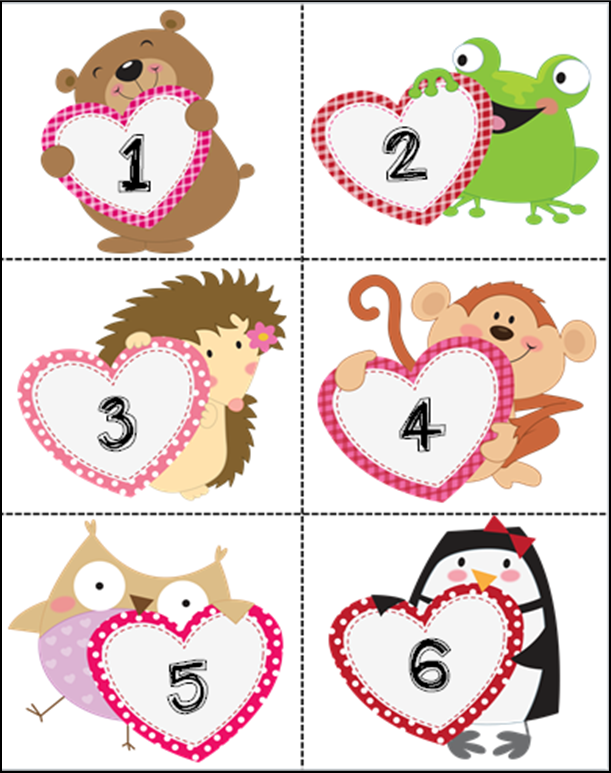 Cute valentine homework pass