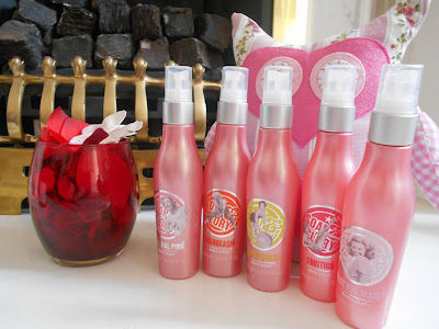 Soap & Glory - Body Spray Collection - Mini Reviews