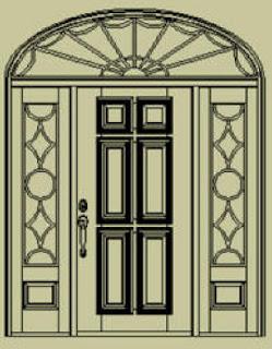 Top Disain Interior Colonial Door Style Design
