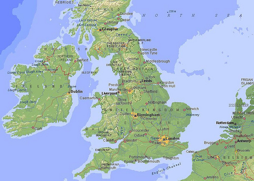 Where Is Britain Located In England This country is located in the