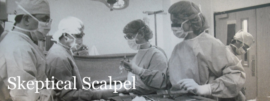 Skeptical Scalpel