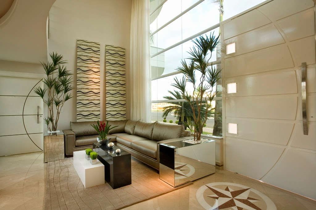 Mosaicos cl ssicos para pisos paredes veja halls de for Mosaicos para paredes interiores