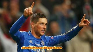 Fernando Torres strker of Chelsea