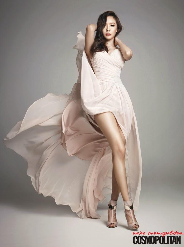 Kim Ah Joong - Cosmopolitan February 2014