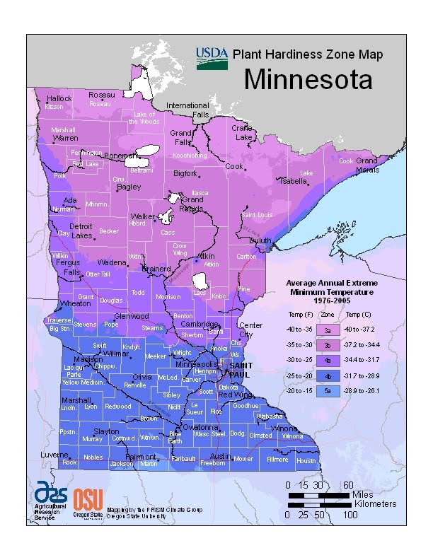 USDA Map MN