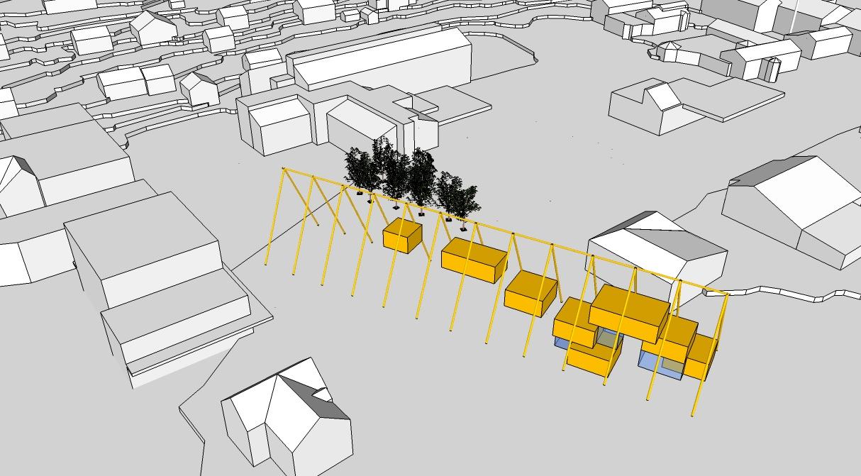 plan bygge på eksisterende bebyggelse