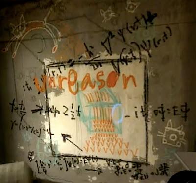 portal graffiti rat man den