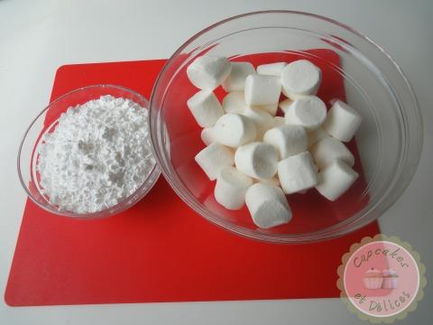 comment faire sa p 226 te 224 sucre maison avec des marshmallows cupcakes et d 233 lices