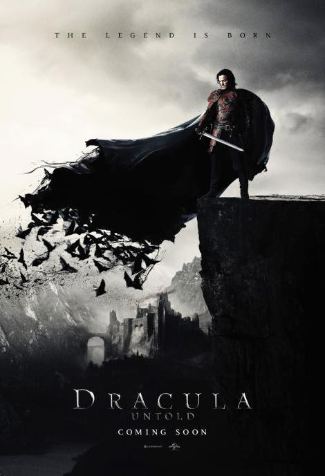 Brand New Poster for Dracula Untold Starring Luke Evans