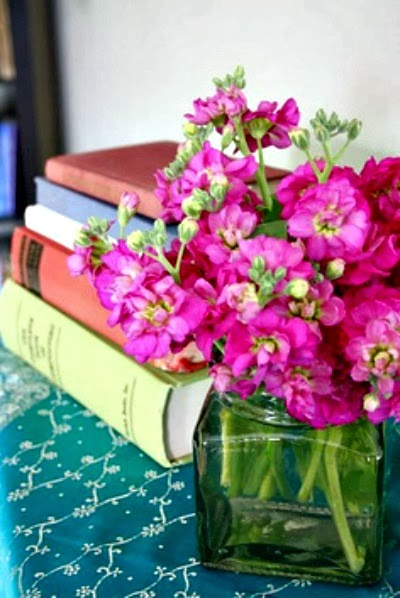 Livros na decoração