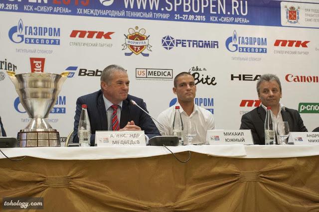 Александр Медведев и Михаил Южный