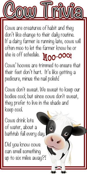 Kat over at Kat's Cafe whipped up some adorable infographics to share ...