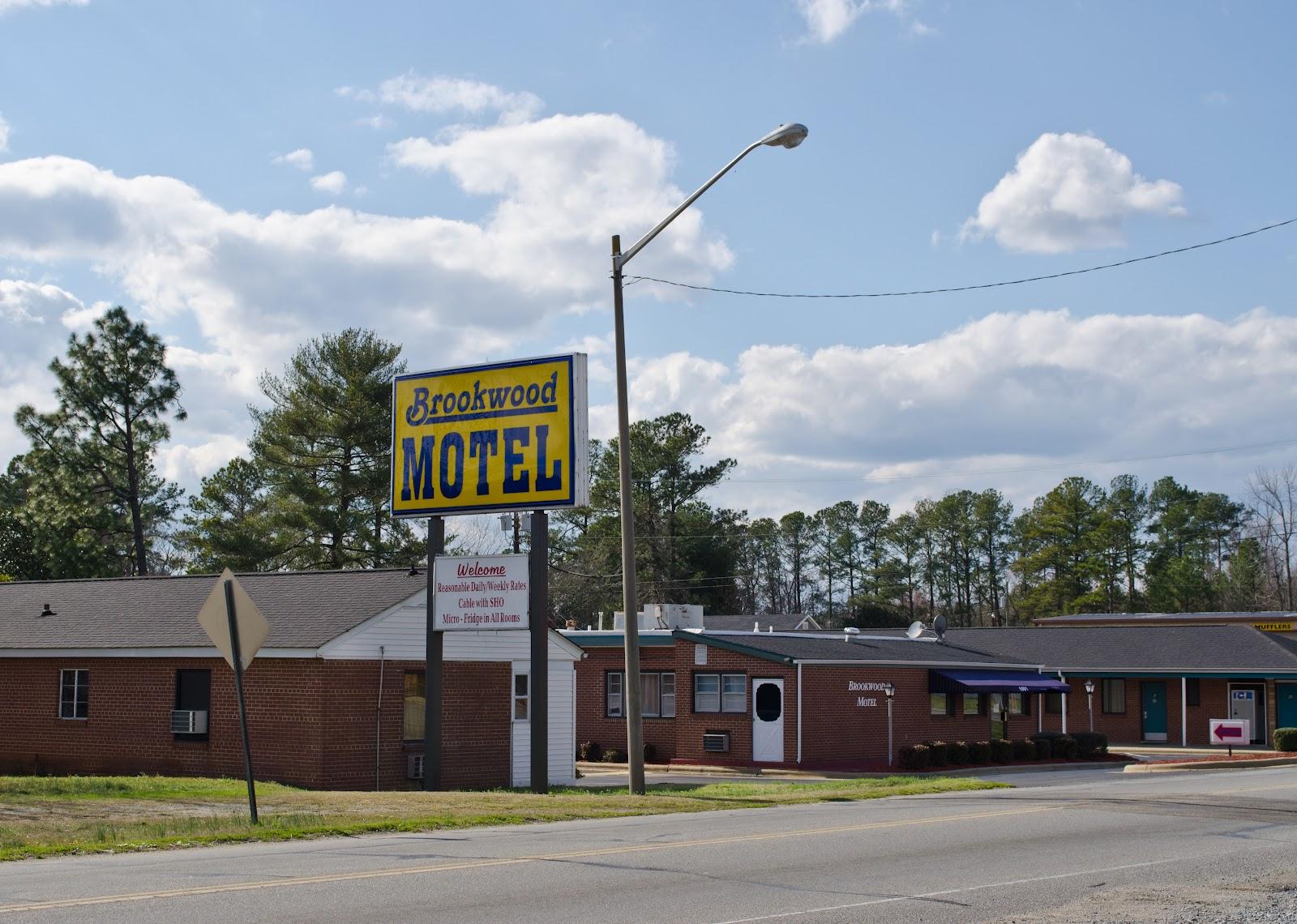 Motor Lodge Brookwood Motel Roanoke Rapids