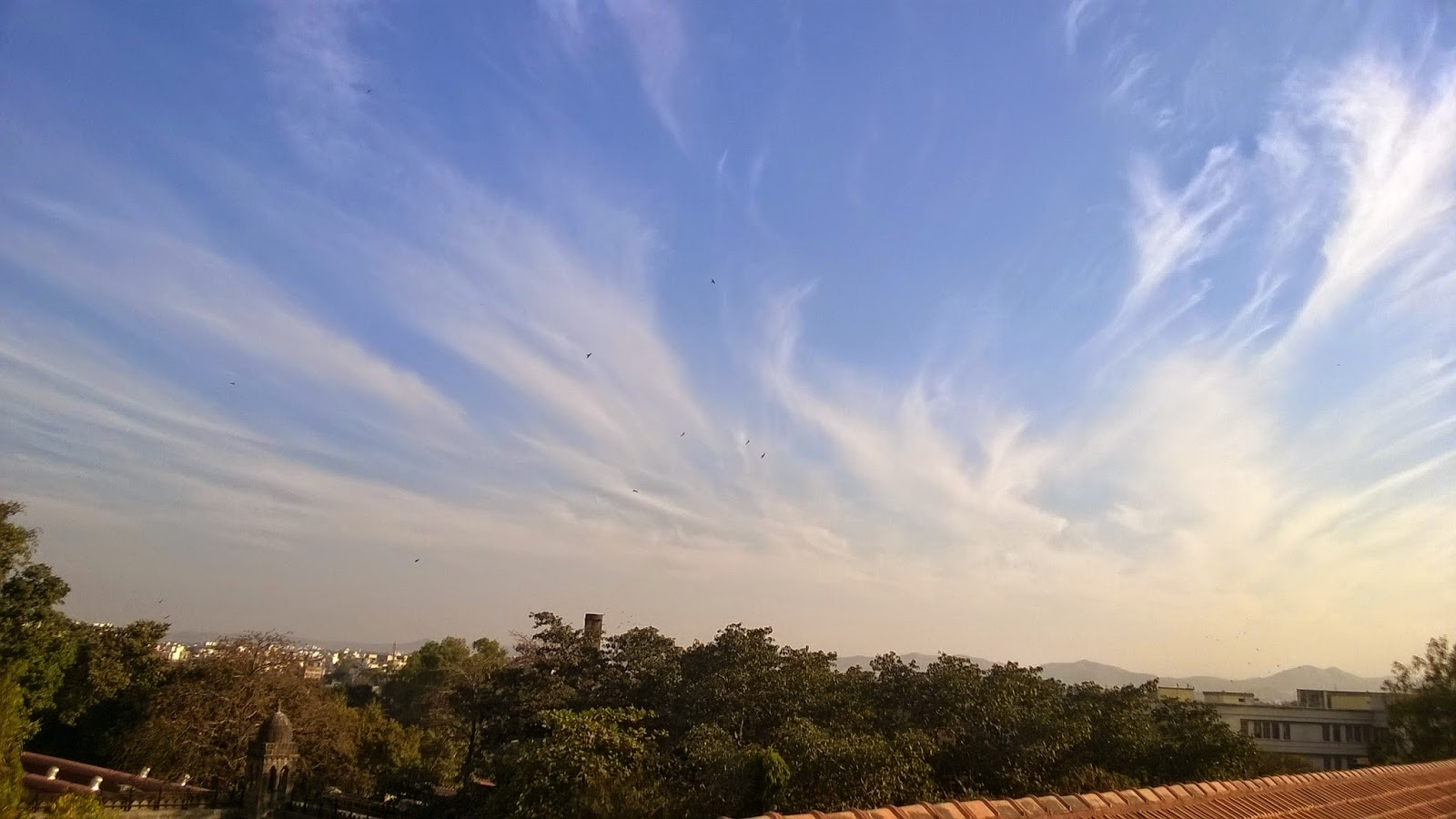 Pune, clouds, blue sky