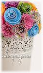 7 de febrero Taller de Flores, flores y más flores....