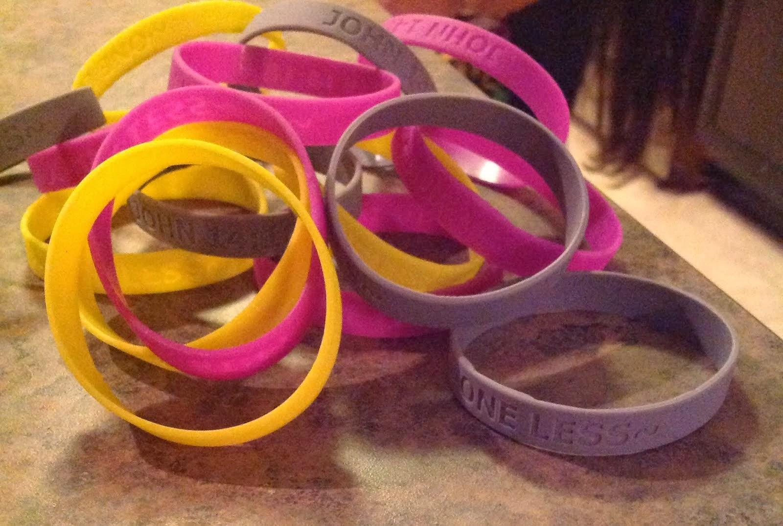 One Less Bracelets