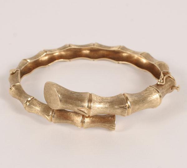 Bamboo Gold Bracelet2