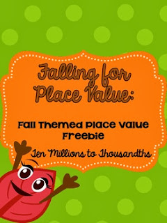 http://www.teacherspayteachers.com/Product/Falling-for-Place-Value-Free-Printable-Activity-933224