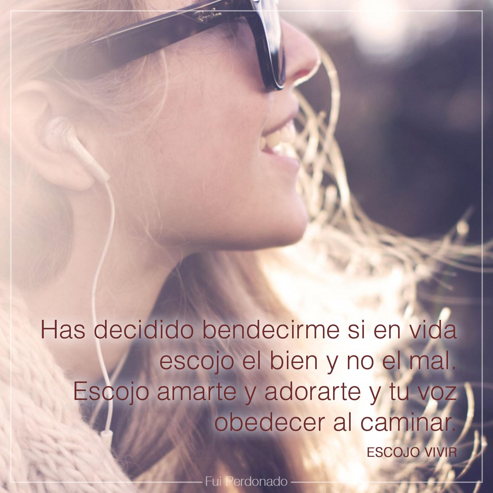 Escojo Vivir (Verso Músical)