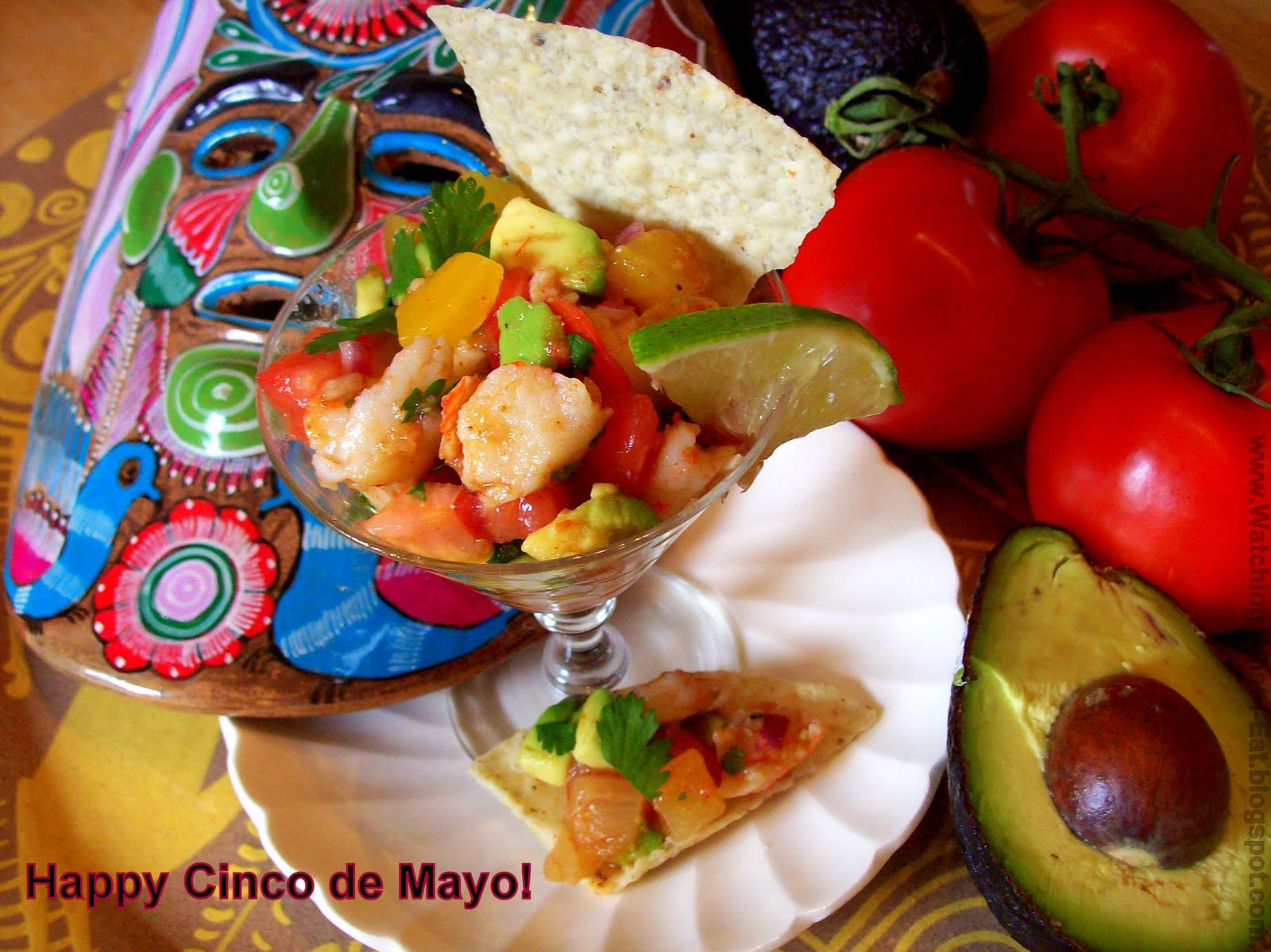 Watching What I Eat: 'Lobster Ceviche' ~ a unique spin on ...