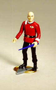 Star Trek Playmates Prototype Tapestry Picard