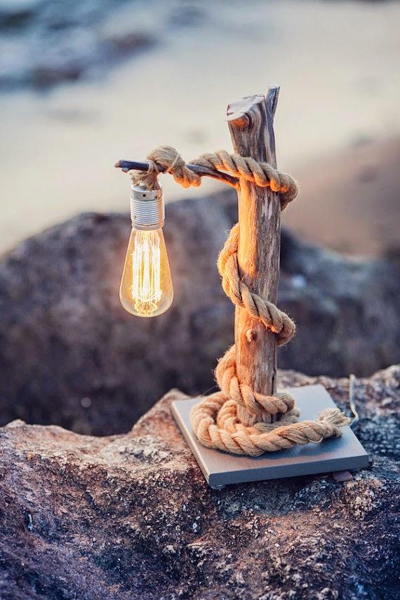 lampka z konaru