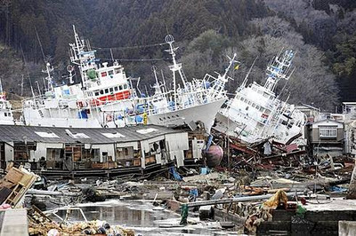Katastrof i Japan