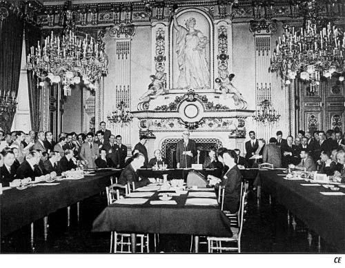 Salón del Reloj del Quai d´Orsay, el Ministerio de Asuntos Exteriores Francés